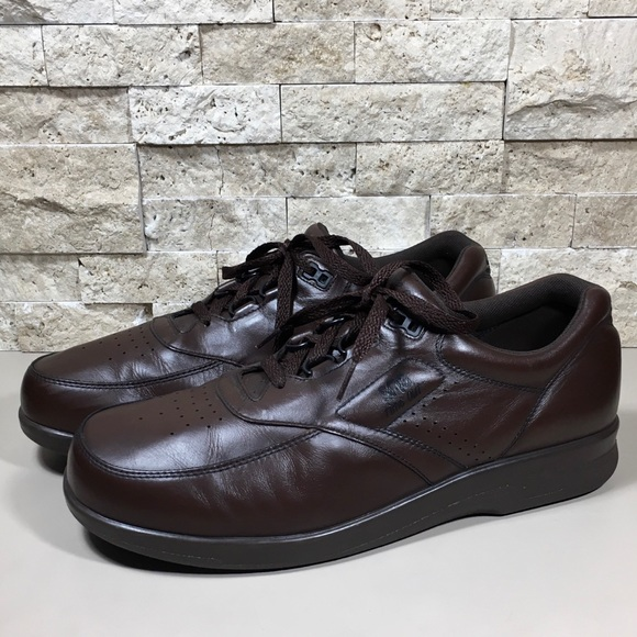 7b720828b1 SAS Shoes | Mens Leather Walking Brown Time Out 11 | Poshmark